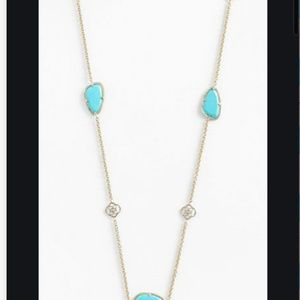NWOT Kendra Scott Kinley Long Station Necklace